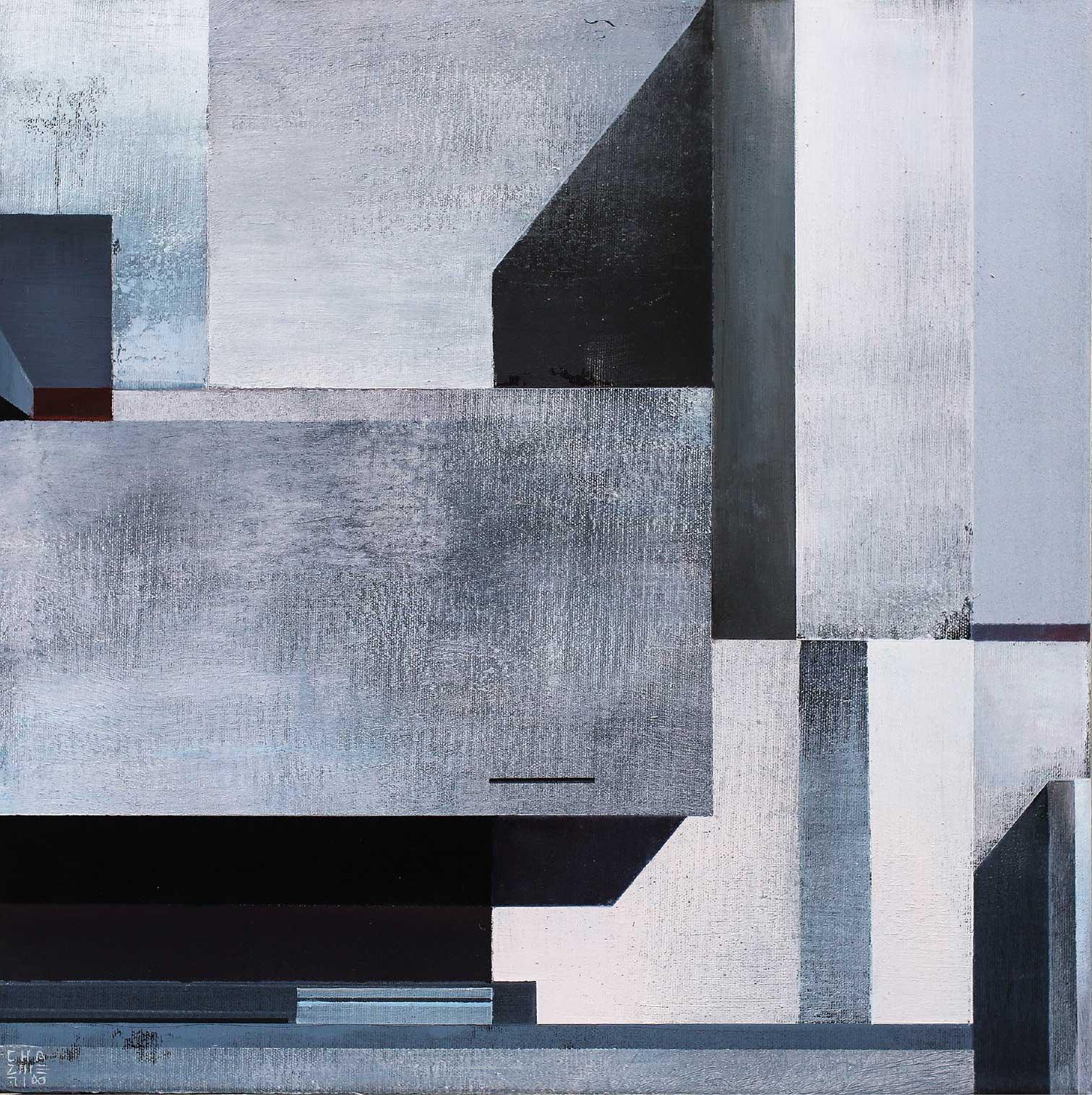 Silent City Composition 4