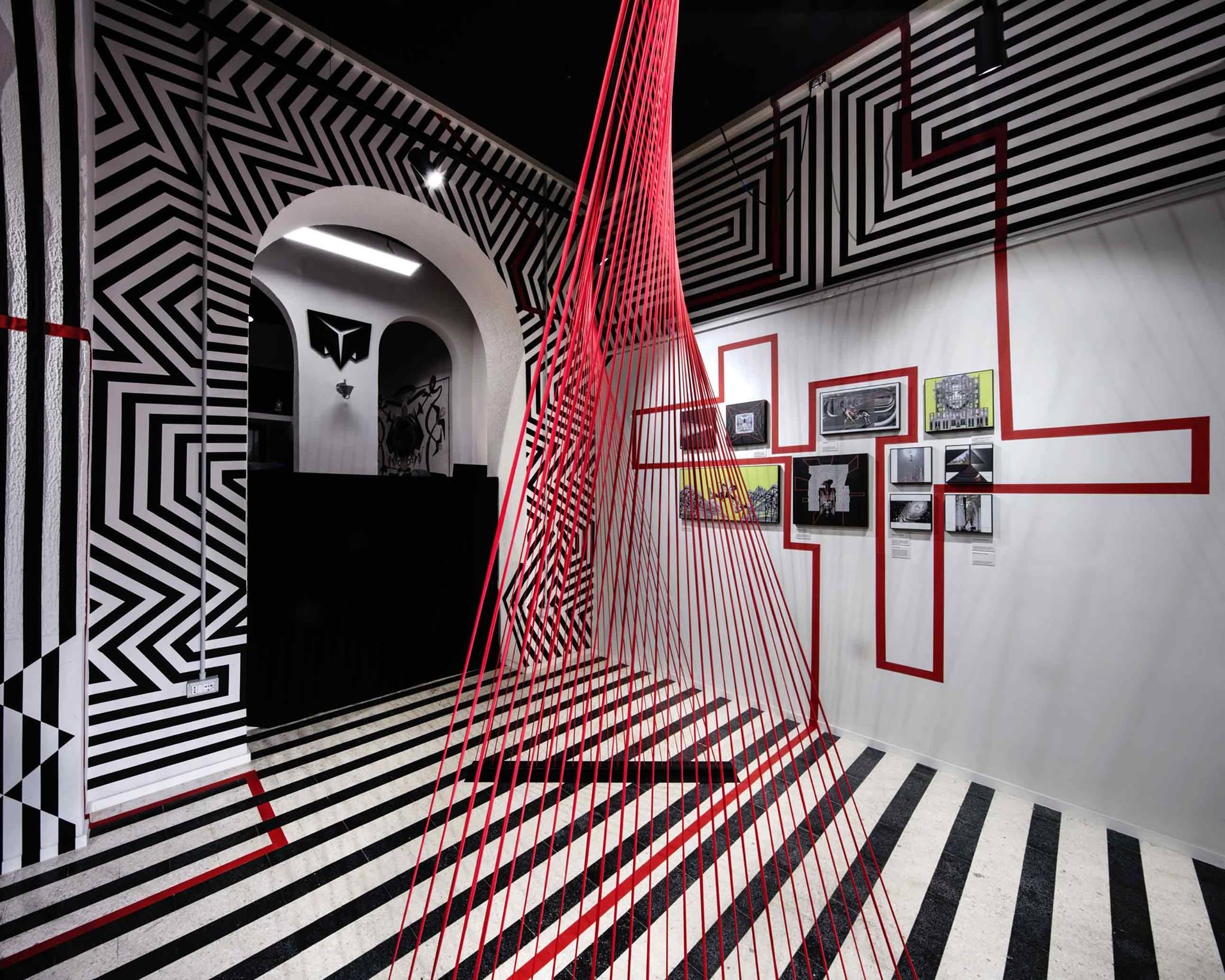 concetto lineare | Cecilia Anselmi & Motorefisico | dMake Art | foto Luigi Filetici