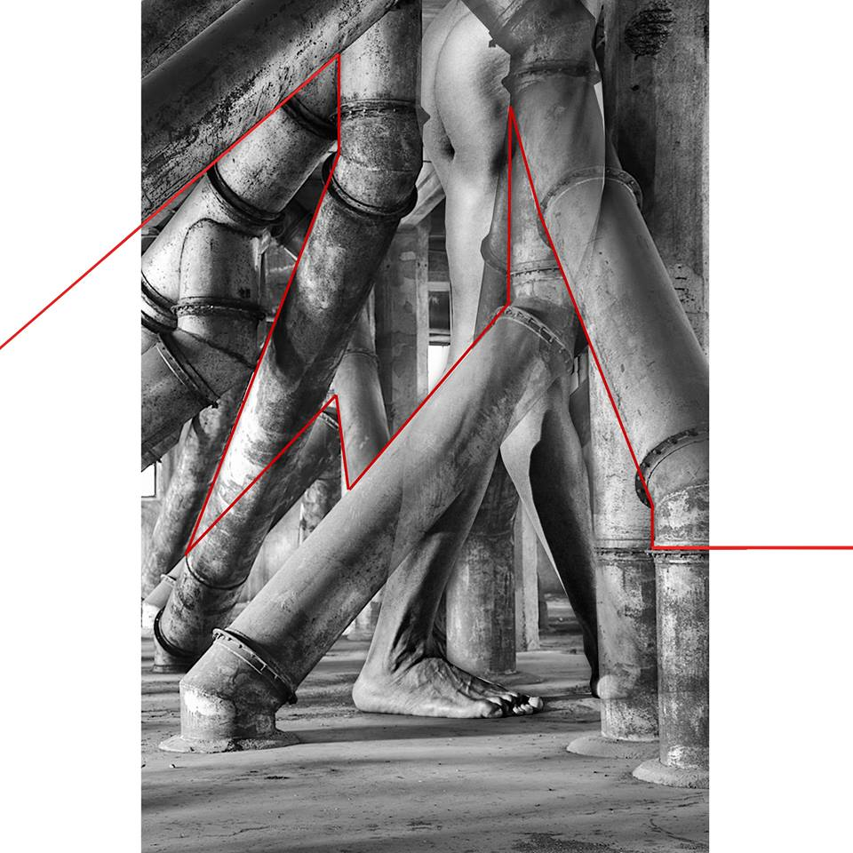 cecilia anselmi | dmake art | linea rossa